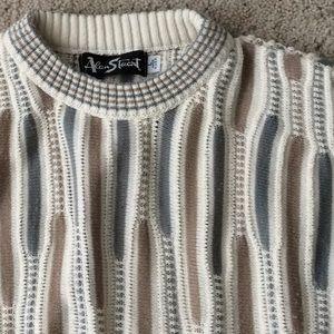 Vintage Alan Stuart 100% Cotton Sweater. L.